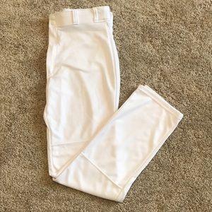 NEW Baseball Adult Large White Pants
